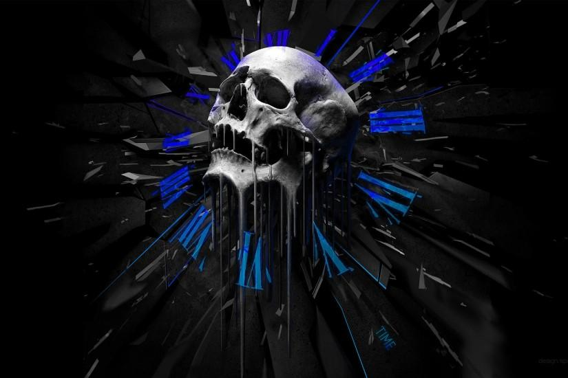 free download skull backgrounds 1920x1200 picture