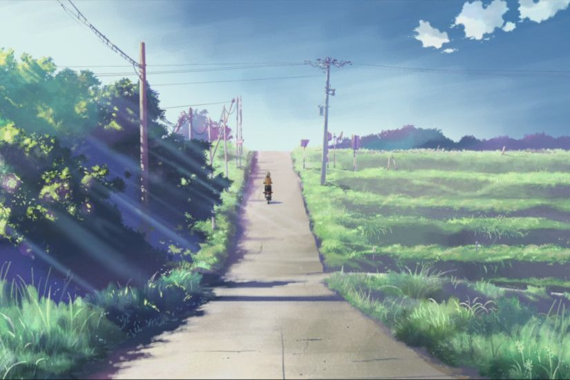5 Centimeters Per Second. Directed by Makoto Shinkai. Created by CoMix Wave  Inc. | concept art | Pinterest | Anime, Anime scenery and Environment