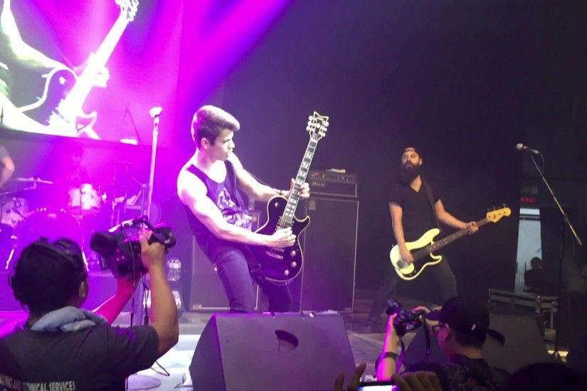 False Pretense - The Red Jumpsuit Apparatus Live in Manila .