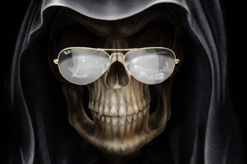 Skull - Fantasy - wallpapers