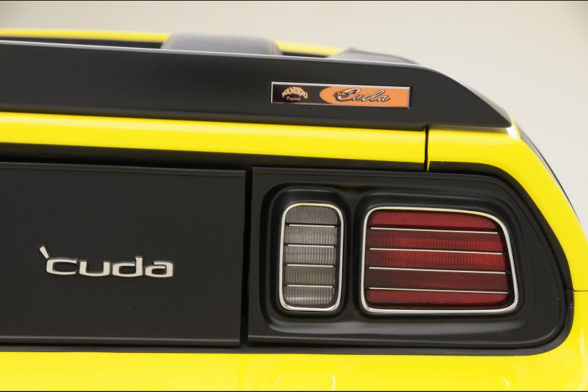 2009 Mr Norm's 426 Hemi Cuda Convertible - Taillight - 1920x1440 - Wallpaper