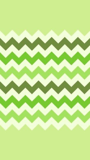 Ombre Green Chevron and Zigzag iPhone 6 Plus Wallpaper - Light Green  Background #iPhone #
