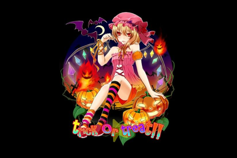 Anime Halloween Flandre Scarlet wallpaper