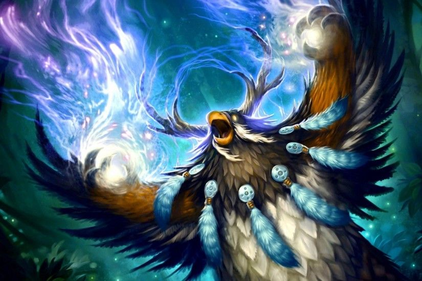 3840x2160 Wallpaper wow, druid, world of warcraft