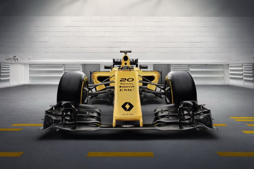 Renault RS16 Formula 1 F1 Race Car