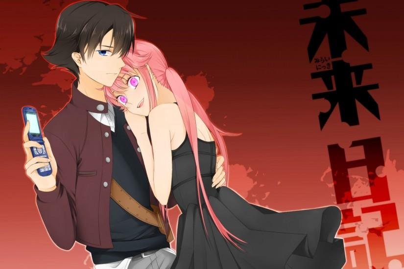 Wallpapers Future Diary Guys Girls