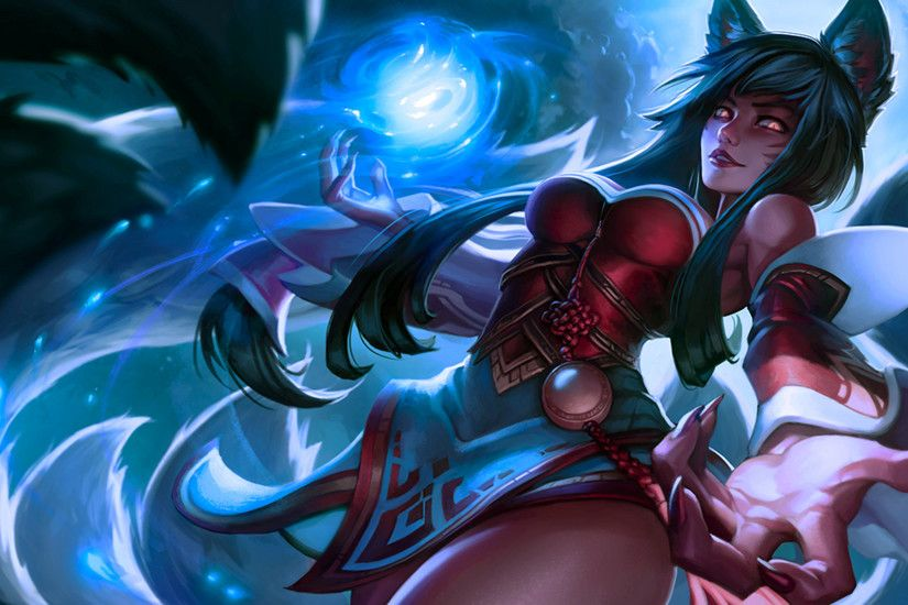 Ahri Splash FAN fan art - League of Legends by Drilo1