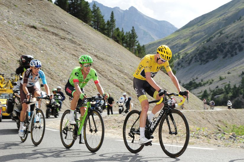 Chris Froome could not be distanced in the mountains at the Tour de France,  having looked to peak later in the season this year (Pic: Simon ...
