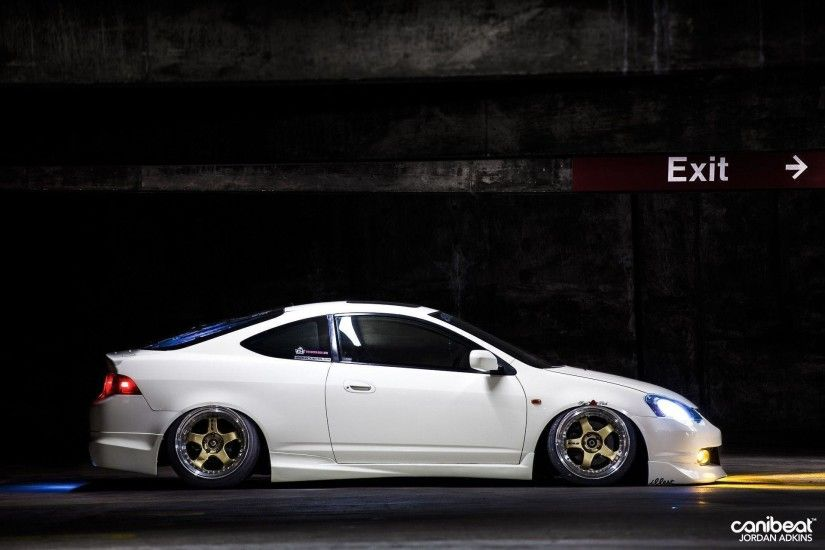 Wallpaper Wednesday: Jerald Yutadco's Bagged Acura RSX – Canibeat