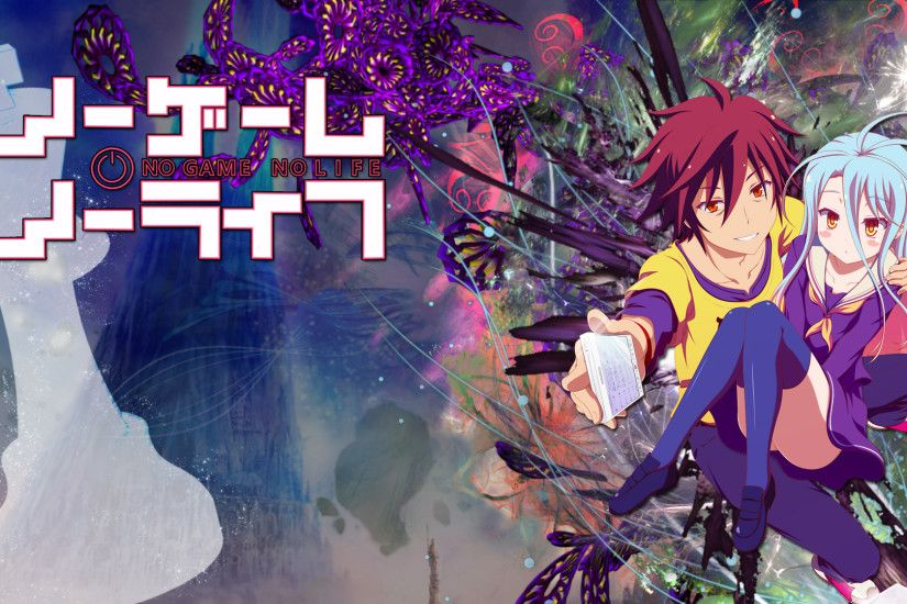 No Game No Life (anime) images Shiro and Sora HD wallpaper and background  photos