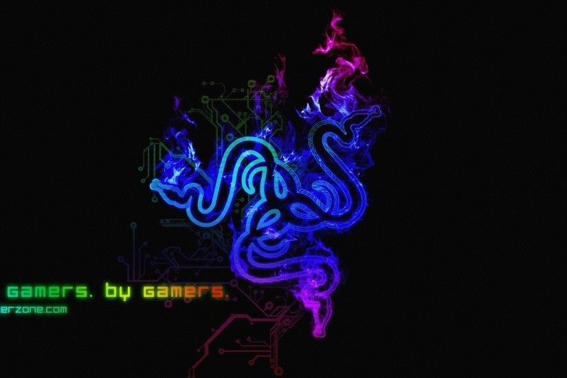 Razer, Video Games, PC Gaming, Simple Background, Simple Wallpapers HD /  Desktop and Mobile Backgrounds