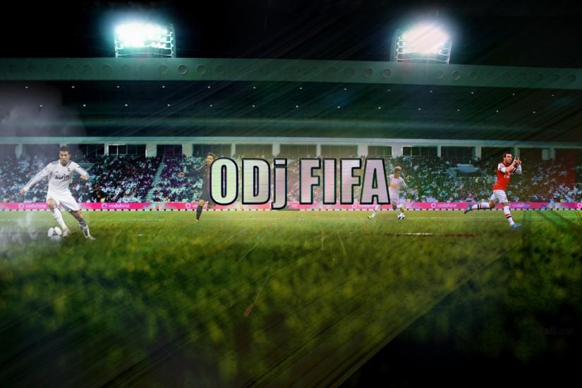 Youtube Channel Background | For ODj FIFA *(2013)* (#Photoshop CS6) -  YouTube