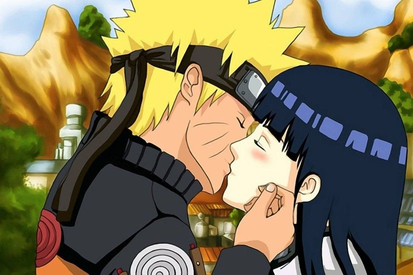 Naruto And Hinata Kissing ...