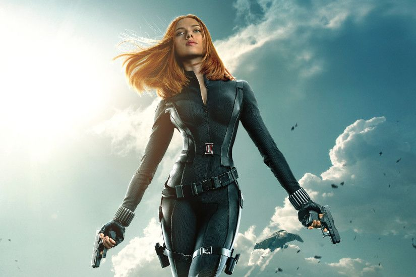 Black Widow Captain America The Winter Soldier