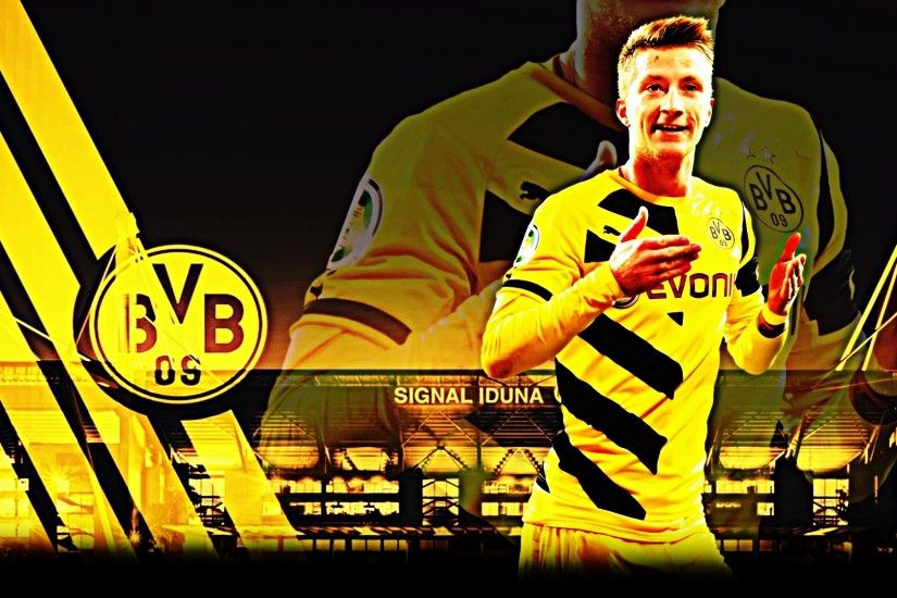 Download Marco Reus HD Dortmund wallpaper