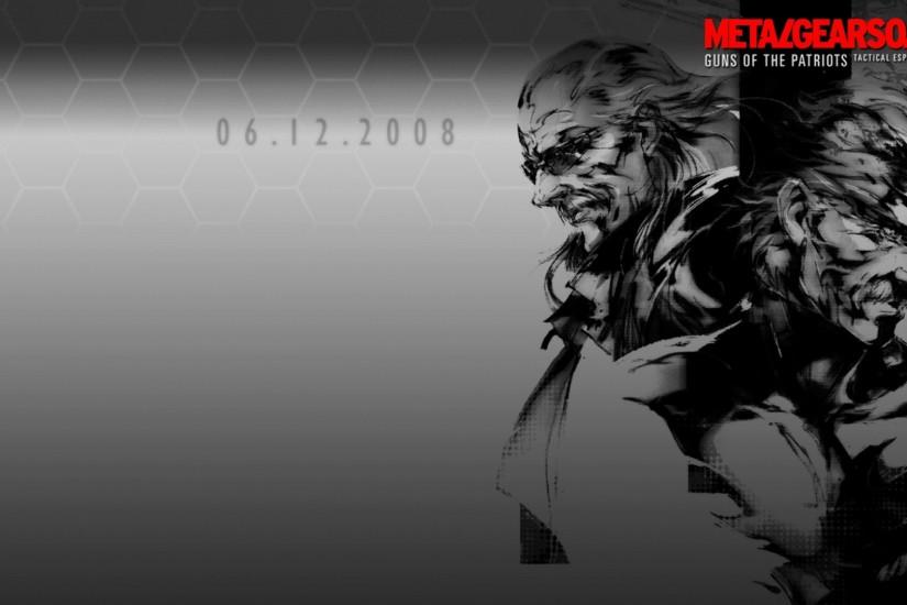 Metal Gear Wallpaper 1920x1080 Metal, Gear, Solid, Solid, Snake .