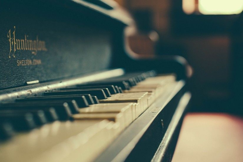 music piano old instruments depth of field piano keys musical instruments  wallpaper