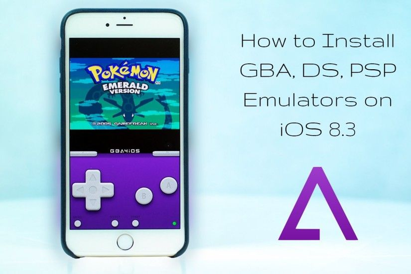 How to get Gameboy Emulators and Super SMASH Bros. on iOS 9 & iPhone 6 | NO  Jailbreak! - YouTube