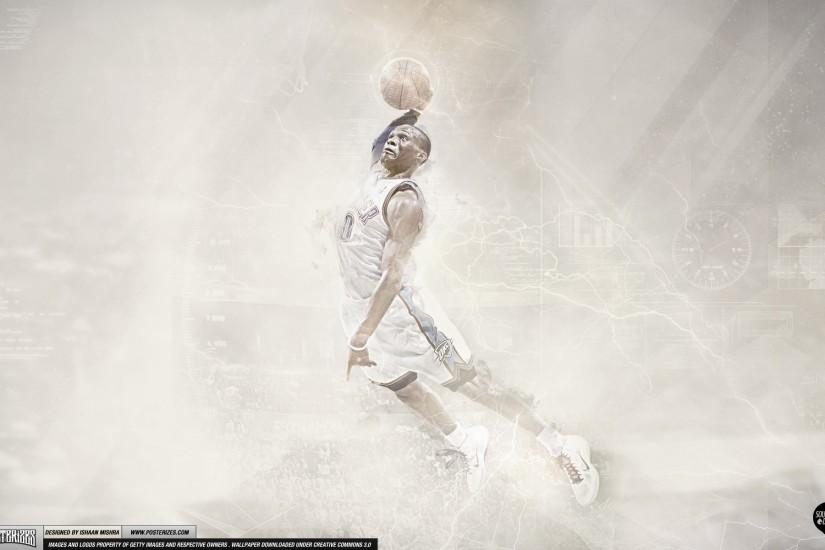 russell westbrook wallpaper 1920x1200 for desktop