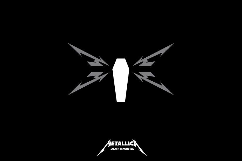 1920x1080 Wallpaper metallica, symbol, name, background, picture