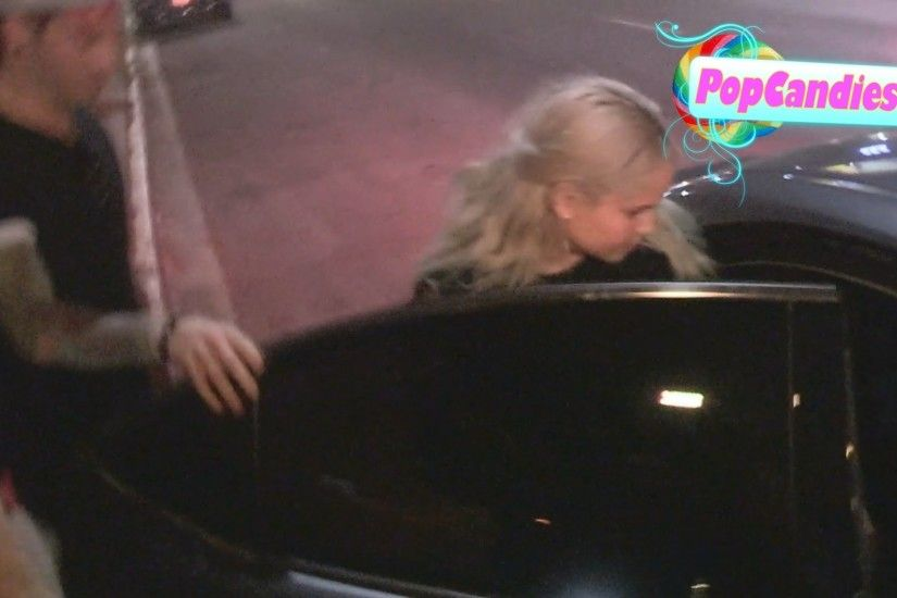 Debby Ryan & Josh Dun back together again while departing Tori Kelly CD  Party at the Nice Guy WeHo - YouTube