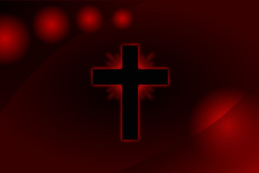 ... Images of Wallpaper Red Black Cross - #SC ...