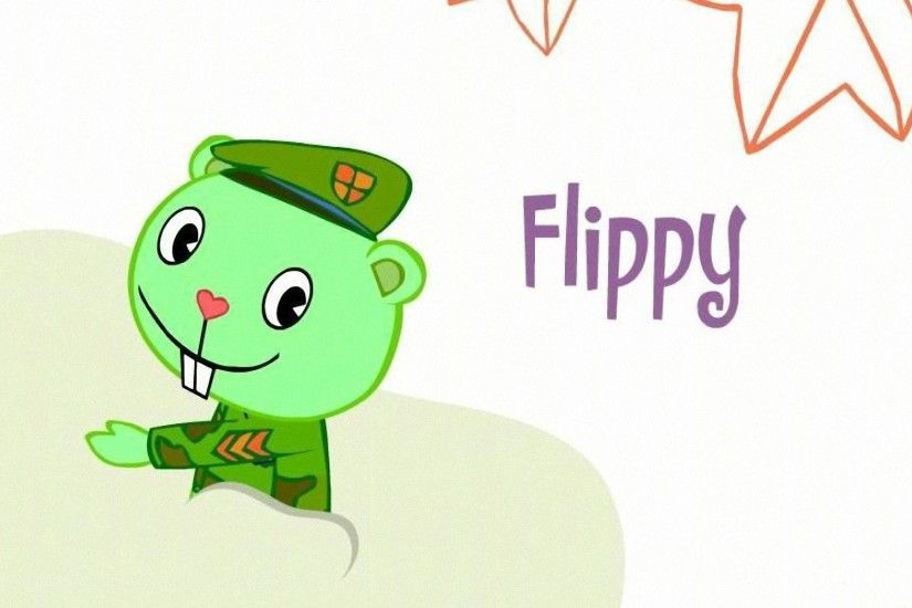 HD Wallpapers Flippy - Happy Tree Friends 2011