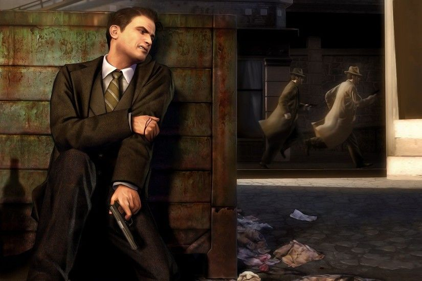 Mafia II, Video Games, Gangsters, Gun, Hurt, Mafia Wallpapers HD / Desktop  and Mobile Backgrounds