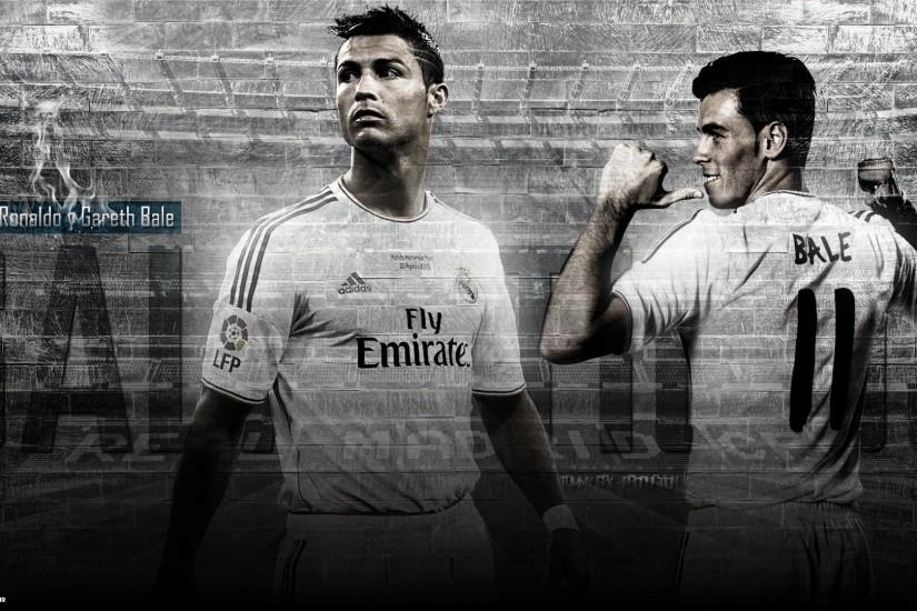 Cristiano Ronaldo and Gareth Bale wallpaper