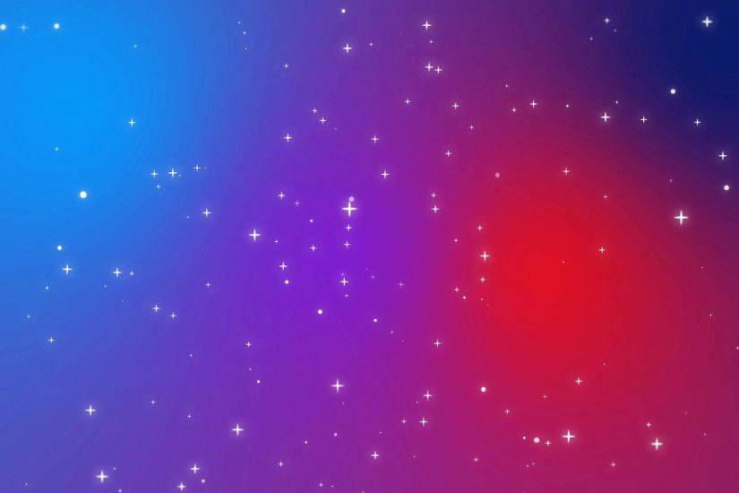 Subscription Library Sparkly white light particles moving across a red  purple blue gradient background imitating night sky full