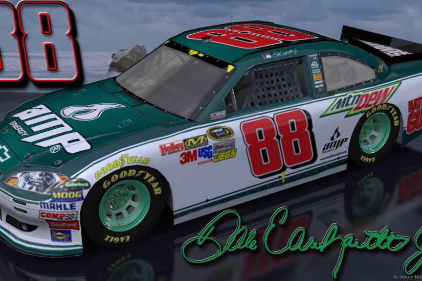 Wallpapers By Wicked Shadows: Dale Earnhardt Jr Amp Green 1 Outdoors .