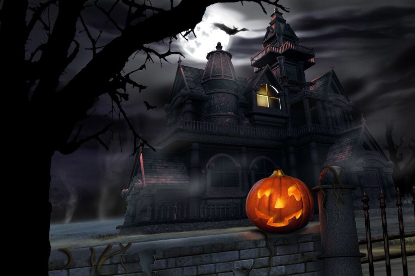 Scary-Halloween-2012-Pumpkin-HD-Wallpaper-2