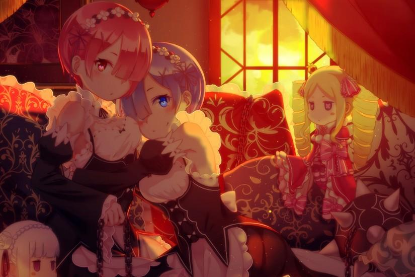 widescreen re zero wallpaper 1920x1200 for mac