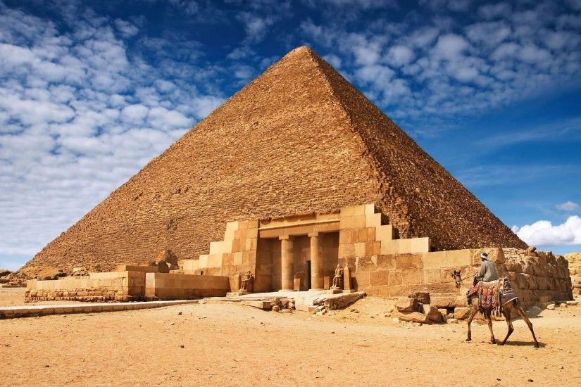 nature Egypt Giza pyramids wallpaper