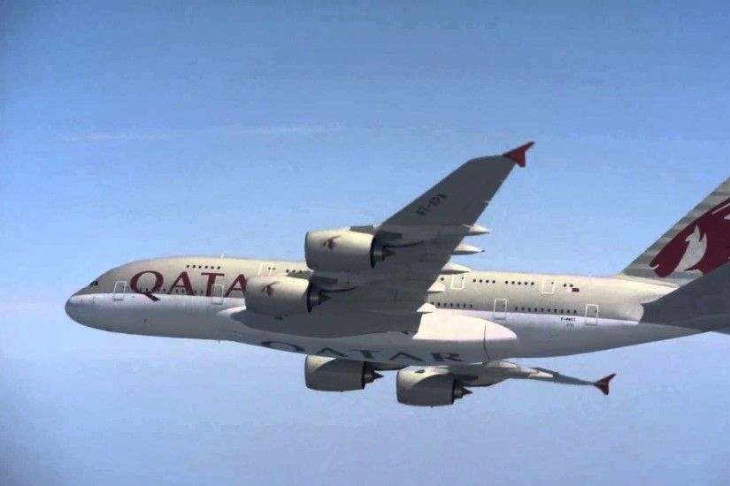 From Concept to Reality – Qatar Airways Airbus A380 (Episode 4: The  Delivery) - YouTube