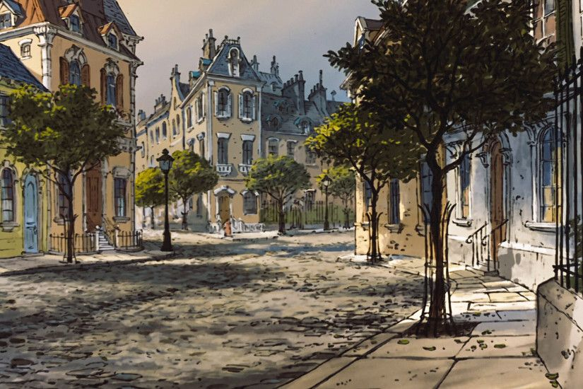 The Aristocats (Quartier) | Disney Screen Caps and Background Art |  Pinterest | Aristocats and Design reference