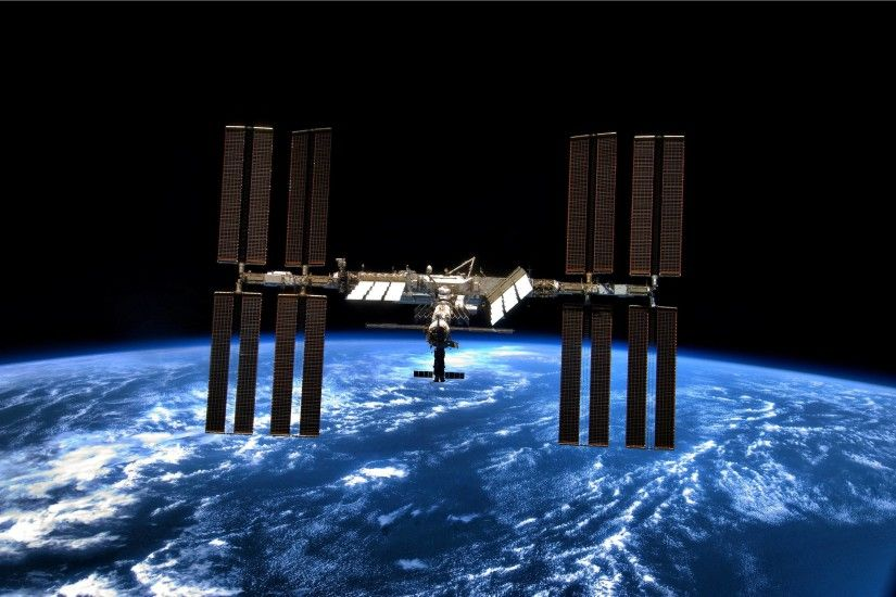 Iss Space Stationinternational Space Station Didpnu O Wallpapers