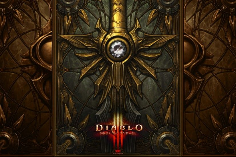 3840x2160 Wallpaper diablo 3, sword, weapon
