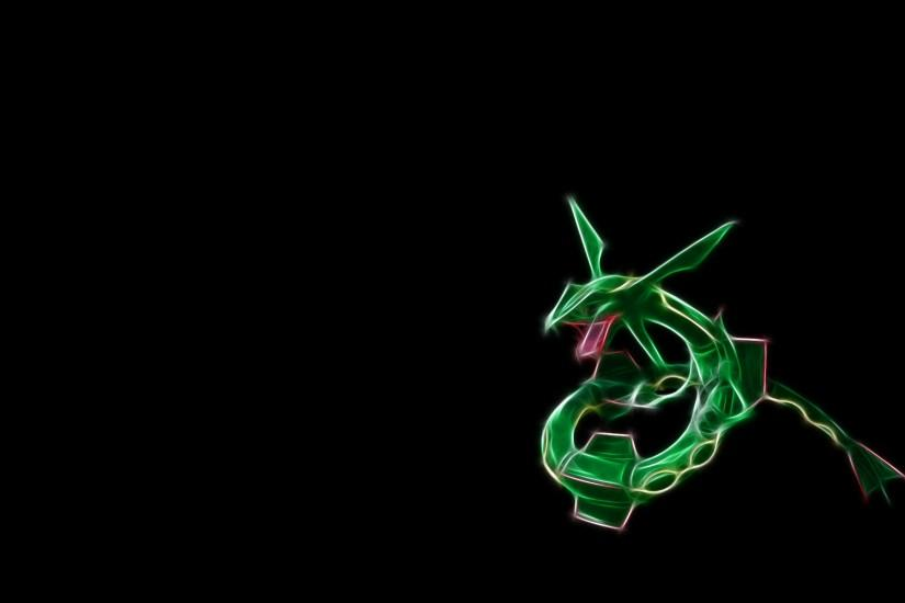 Anime - Pokemon Rayquaza (Pokémon) Legendary Pokémon Wallpaper