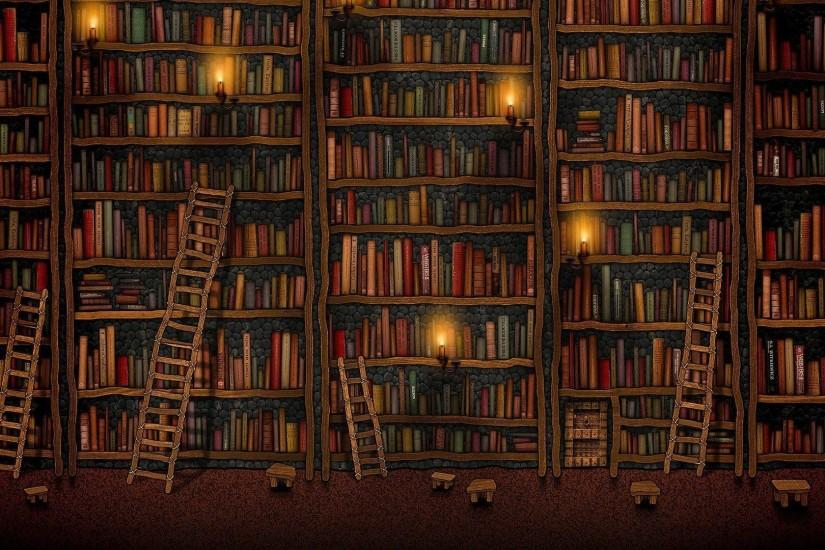 Library Wallpaper Hd - Viewing Gallery