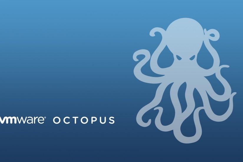 Octopus wallpaper. Of the VMware wallpaper I have this one is my .
