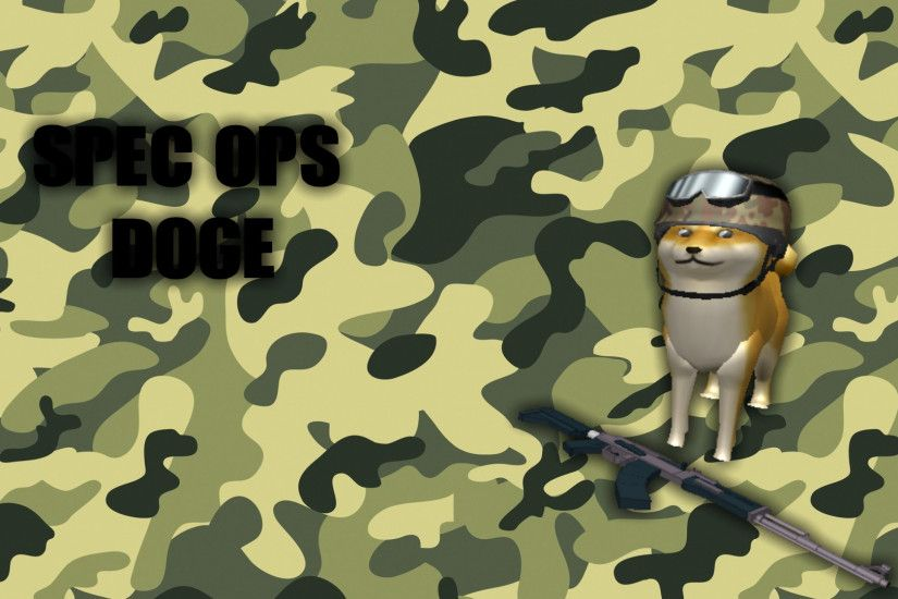 ... Official Spec Ops Doge Wallpaper by ExionTV