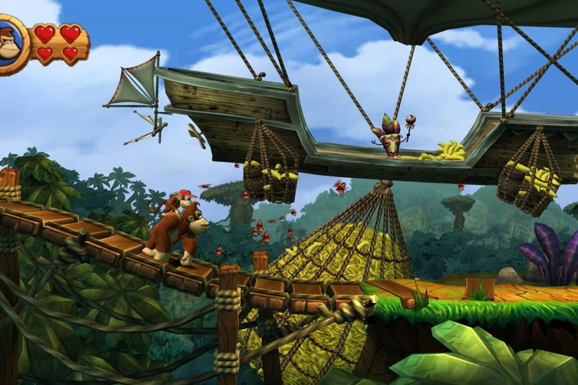 Donkey Kong Country Returns HD Wallpaper | Hintergrund | 1920x1080 |  ID:335877 - Wallpaper Abyss