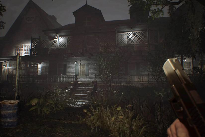 Creepy Manor - Resident Evil 7: Biohazard 3840x2160 wallpaper