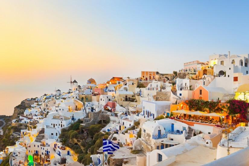 55 Santorini HD Wallpapers | Backgrounds - Wallpaper Abyss