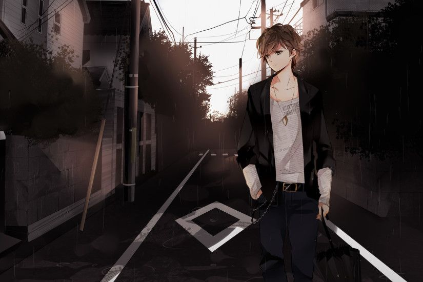 Alone-Anime-Boys-Wallpapers
