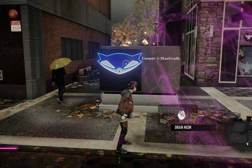Sly Cooper in Infamous First Light ...