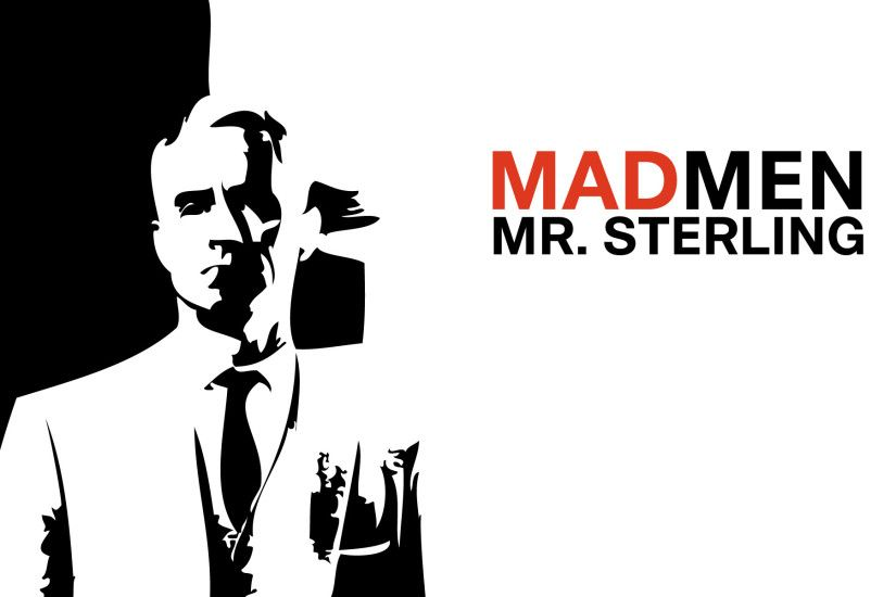 Mad Men wallpaper HD | MR Sterling | Series wallpapersPicture for .
