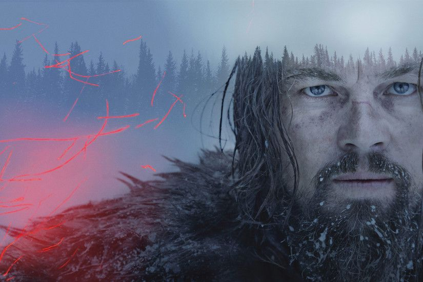 The Revenant Movie Poster Leonardo DiCaprio Wallpaper
