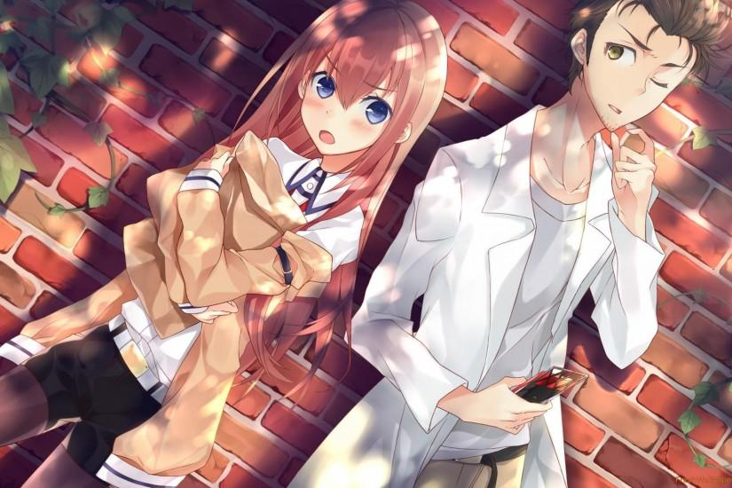 steins gate wallpaper 2560x1600 for mobile